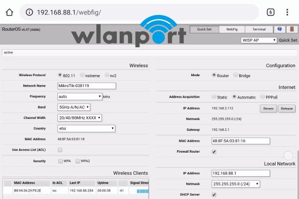 wlanport_MikroTik_cAP-ac_Konfiguration